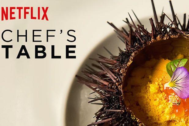 Chef's Table –Netflix